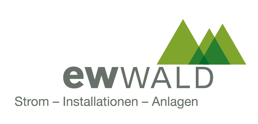 Logo von EW Wald  Strom - Installation - Anlagen